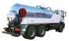 Tanks for cleaning kit trenches with high pressure for washing